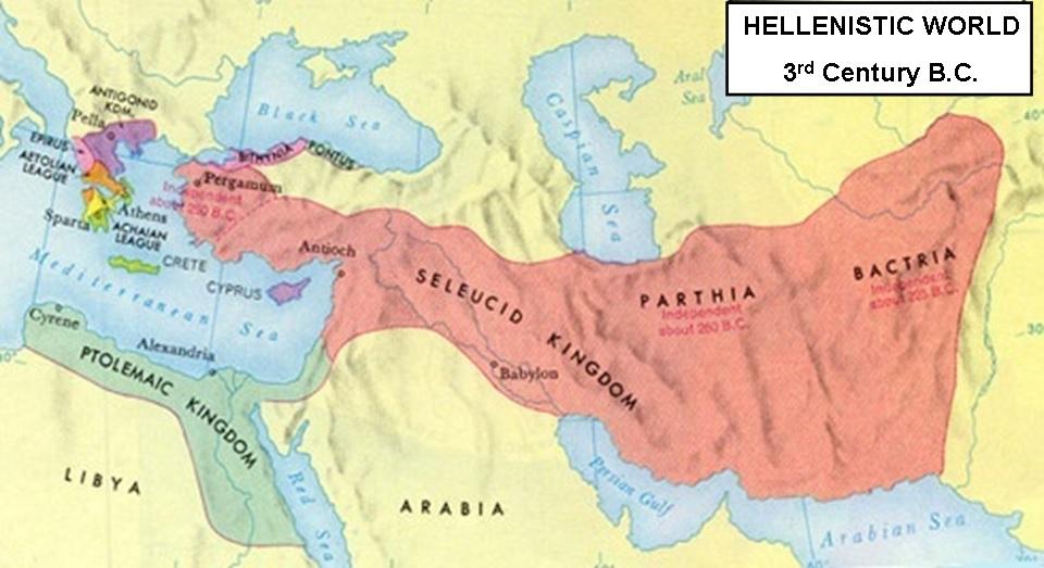 Maccabim_Hellenistic_World_250_BCE