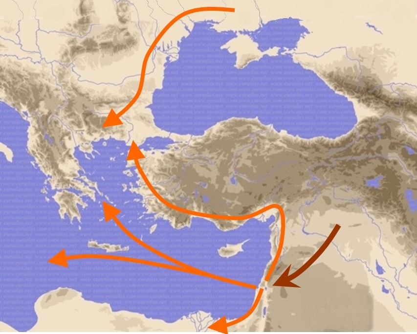 Na-krugi-svoja 20 migration 2 to Greece